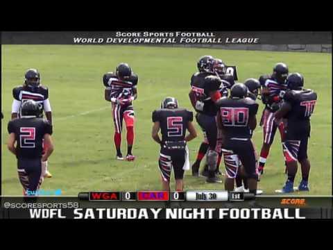 West Georgia Falcons vs Carolina Recon 2016 WDFL Week 3