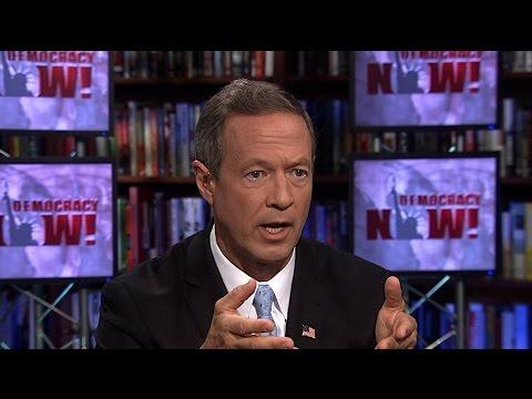 Martin O'Malley Slams DNC for Rigging Debates
