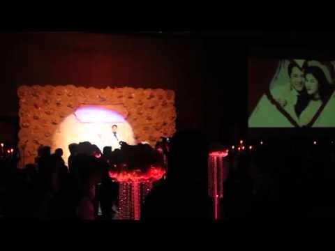 Đăng Khôi hát tặng vợ trong lễ cưới