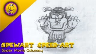 Spewart Speed Drawing ll Supersonic Speed Art