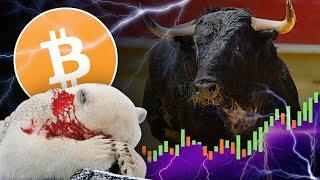 Bull Run Has Just Begun!! Will Bitcoin Hit 6k Soon? 10k? Bears Running Out of Steam!