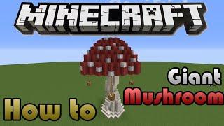 Minecraft: How To Build A Giant Mushroom Decorative Building/Mob Farm/ Mushroom Farm YouTube