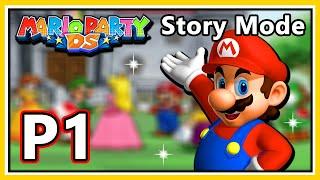 Mario Party DS Walkthrough - Story Mode - Part 1 (HD 1080p)