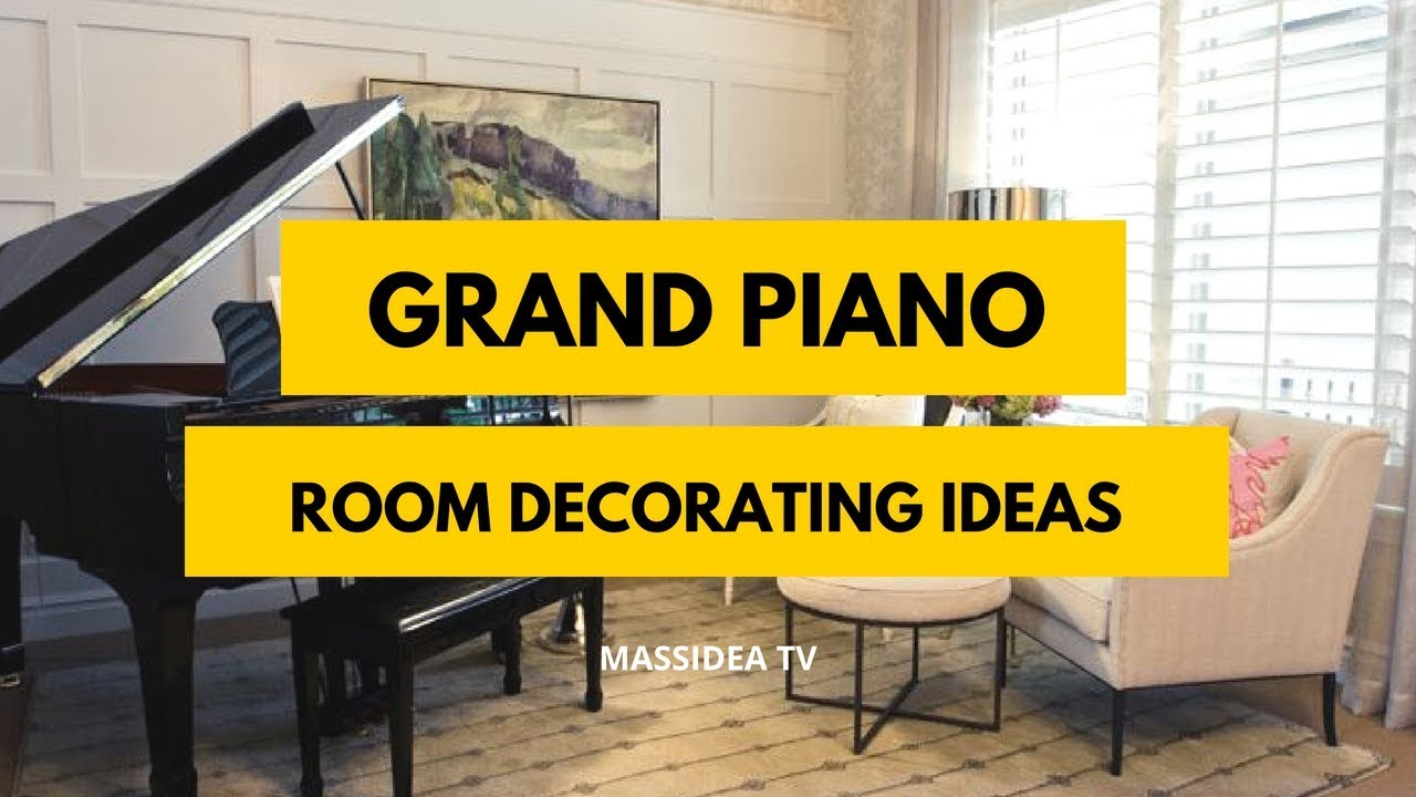 70+ Relaxing Grand Piano Room Decorating Ideas