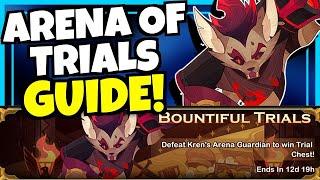 KREN ARENA OF TRIALS GUIDE!!! [AFK ARENA]
