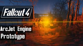 fallout 4 arcjet thermal engine prototype easter egg