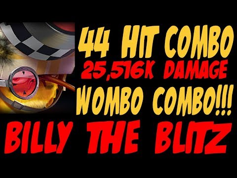 44 Hit Combo (25,516k Damage) Billy The Blitz - Angry Birds Evolution