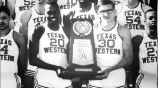 """""""And The Wheels Turned,"""" a UTEP student produced documentary on the NCAA championship game of 1966"""
