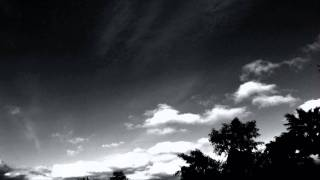 Nice B&W Cumulus clouds timelapse (3/4) HD V09298c