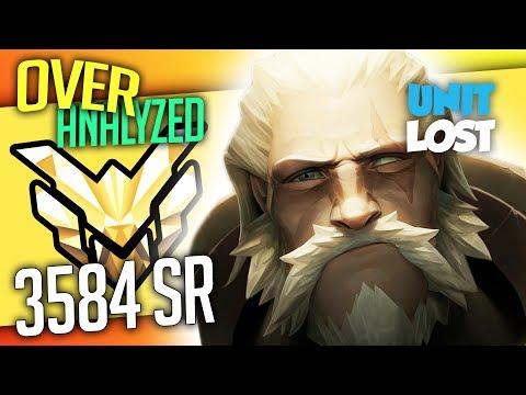 Overwatch Coaching - Reinhardt - MASTER 3584 SR - [OverAnalyzed]