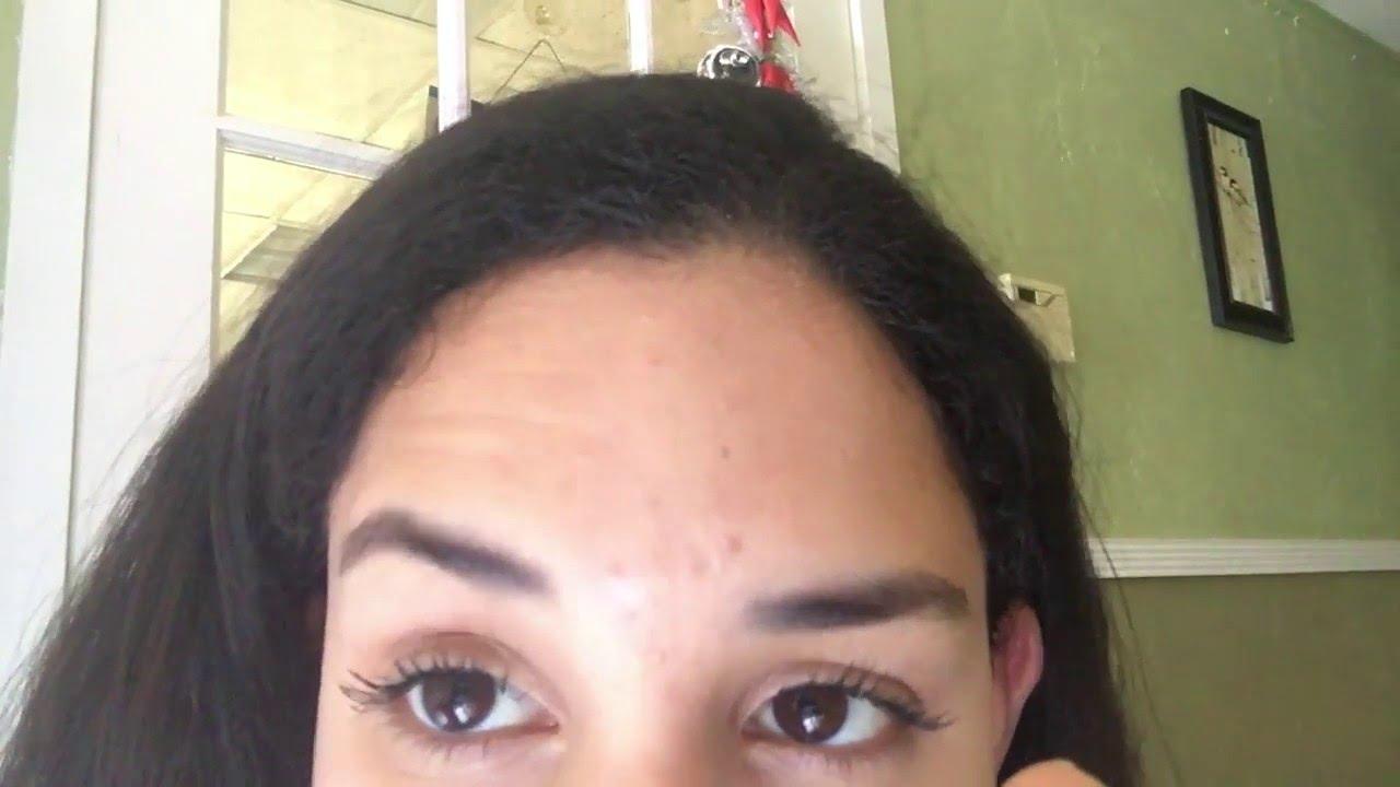 Cool Eyebrow Dance No Camera Tricks Youtube