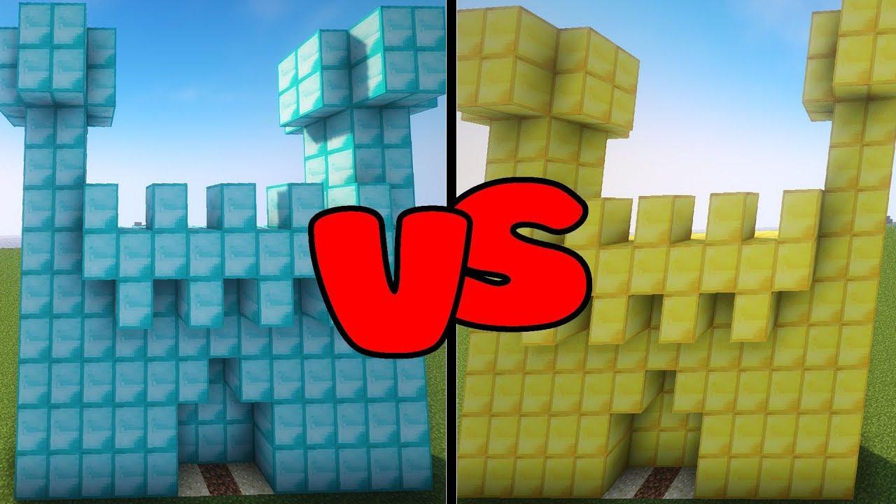 Thử Thách Solo Phá Nhà Kim Cương Trong Minecraft