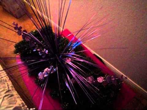 Decoracion centro de mesa para navidad youtube - Mesas decoradas para navidad ...