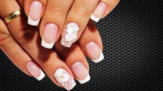 Лепка белый цветочек. Удивительные дизайны ТОП Красивый и простой летний дизайн ногтей nail art