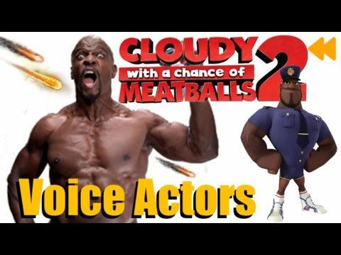 Cloudy With A Chance Of Meatballs 2 Voice Actors And Characters Youtube