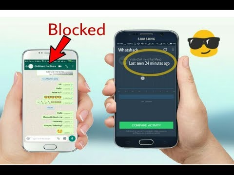 How do i see blocked contacts on whatsapp