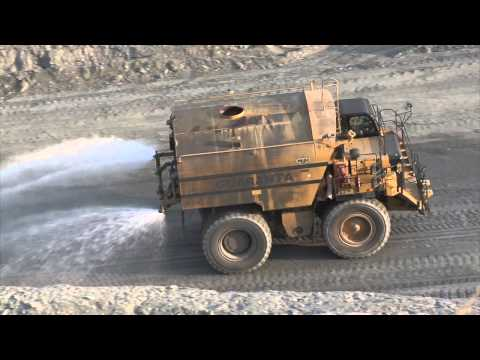 Cat® Water Delivery System Enhances Mine Safety and Productivity