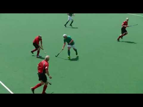 Ireland v Wales Mens hockey Over 65. Southgate, Home Internationals