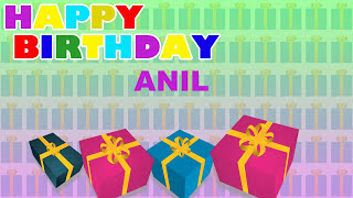 Anil - Card Tarjeta_784 - Happy Birthday