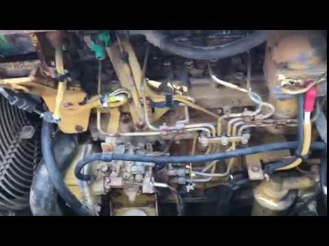 CAT 3046T Engine for CAT D5G BULLDOZER - YouTube