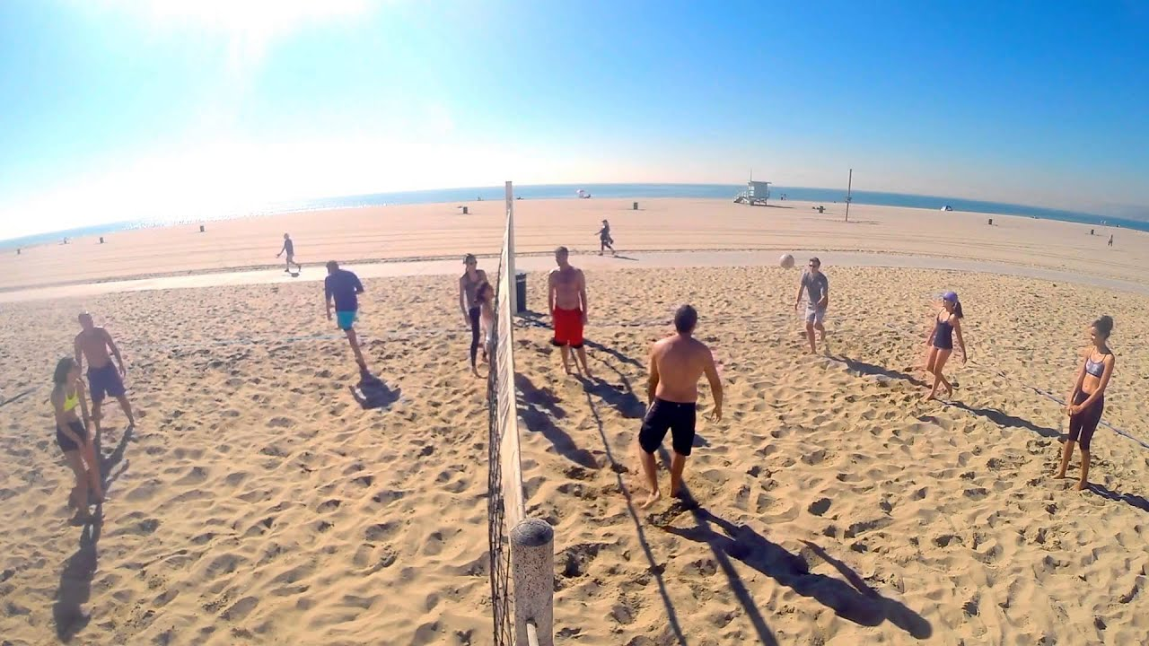 Santa Monica Beach Volleyball