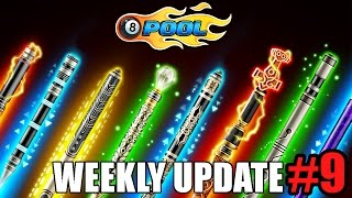 8 Ball Pool Weekly Update #9 - Trickshots, Free Coins, Leaderboards & more!