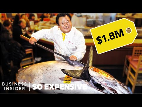 Why Bluefin Tuna Is So Expensive | So Expensive