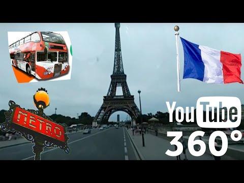 360° Paris - France - Open Top Sightseeing Tour 2016