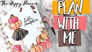 THE HAPPY PLANNER CHIT CHAT PLAN WITH ME | Belinda Selene