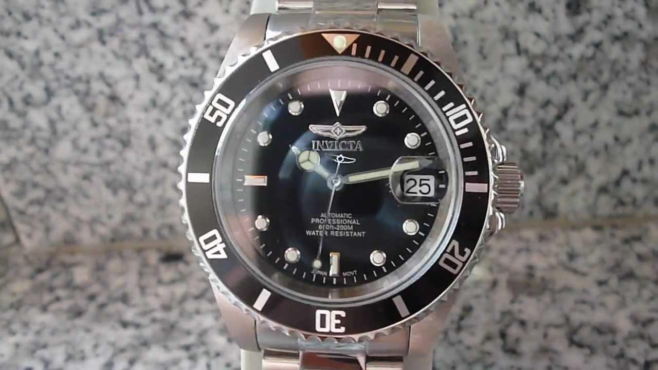 Reloj Invicta Pro Diver 8926 OB - YouTube