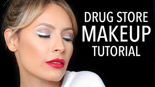 100% Drugstore Makeup Tutorial  - Desi Perkins