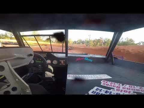 East Lincoln Speedway 5-18-19 pro 4 Rear Cam Heat Race Alexus Motes