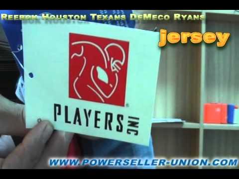 Reebok Houston Texans DeMeco Ryans Replica Alternate Jersey.avi