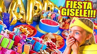 HAPPY BIRTHDAY GISELE!! INCREÍBLE FIESTA DE CUMPLEAÑOS!!