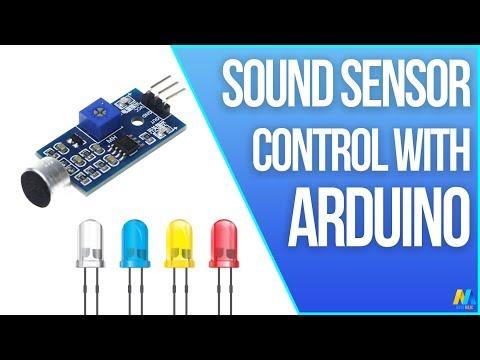 Arduino Tutorial - Sound Sensor (with LED) | Mert Arduino and Tech