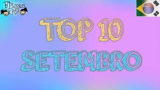 TOP 10 | K-POP MUSIC VIDEOS | MÊS DE SETEMBRO 2017