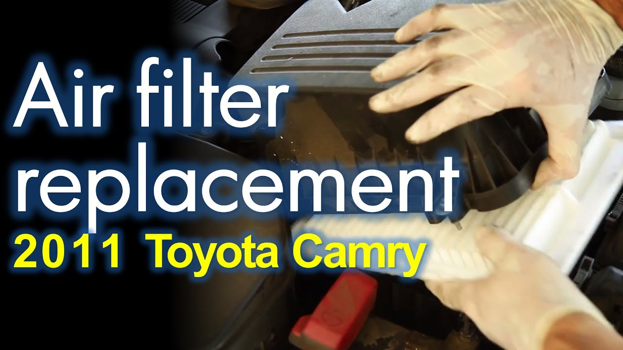 maxresdefault Terrific toyota Camry 2006 Air Filter Replacement Cars Trend