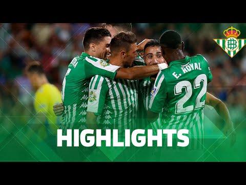 Resumen del partido Real Betis-UD Las Palmas (1-0)