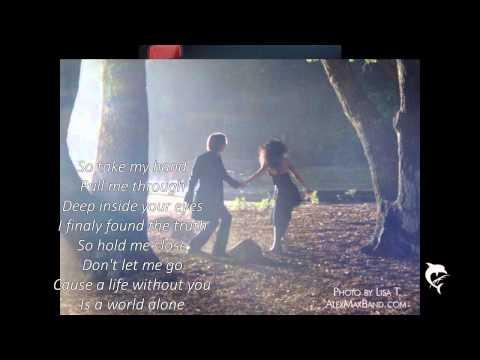 Alex Band-A World Alone Lyrics