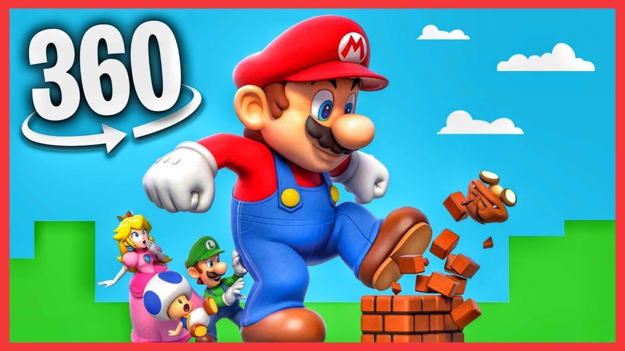 360 VR Video | Super Mario Bros Virtual Reality experience