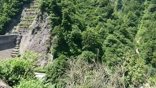 2019/8/14   黒部峡谷鉄道   出し平ダム