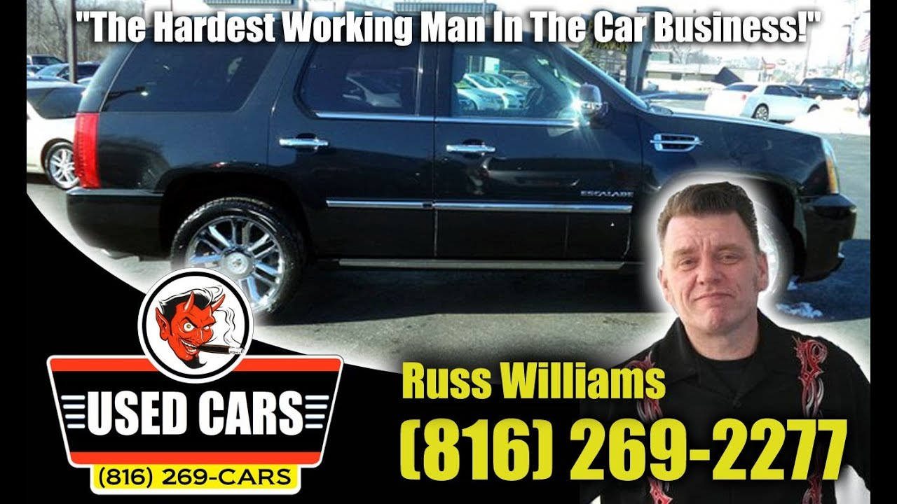 2010 cadillac escalade kansas city st joseph mo ks used cars russ williams best cars kc pre. Black Bedroom Furniture Sets. Home Design Ideas