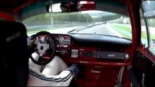 Porsche 911 at Spa Francorchamps  (Porsche 904)