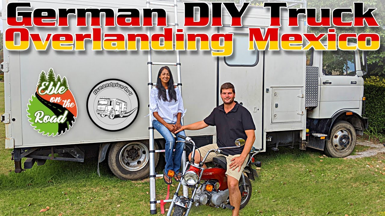 DIY Overland Vehicle ► |  German Couple builds Mercedes expedition truck to live the VAN LIFE