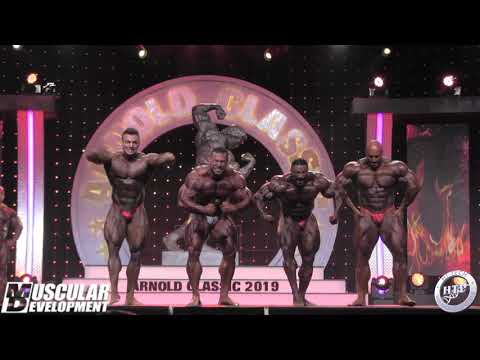 2019 ARNOLD CLASSIC - BODYBUILDING - COMPARISONS & AWARDS
