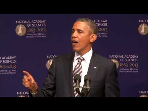 President Obama Speaks - 150th Anniversary of the National Academy of Sciences