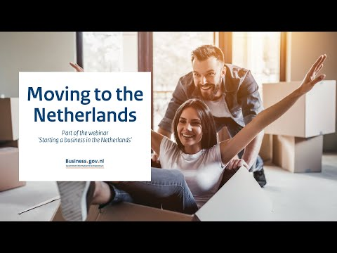 Webinar: Moving to the Netherlands as an entrepreneur - Starting a business in the Netherlands