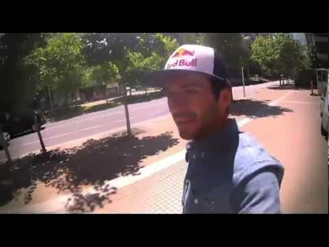 """La Fabrica Fox Sports """"Spiro Santiago, Chile skate -F1"""""""