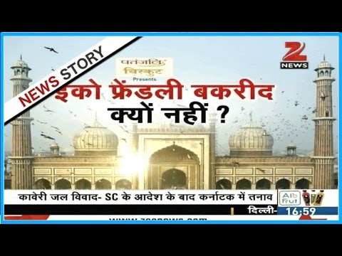 Should Bakrid also be celebrated in eco-friendly manner like other festivals?