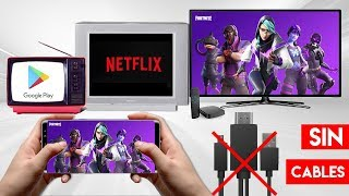 Conectar TELÉFONO CELULAR a Cualquier TV ¡Sin CABLES & INALÁMBRICO! | 5 Métodos NUEVOS 2020